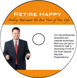 retire happy CD Label