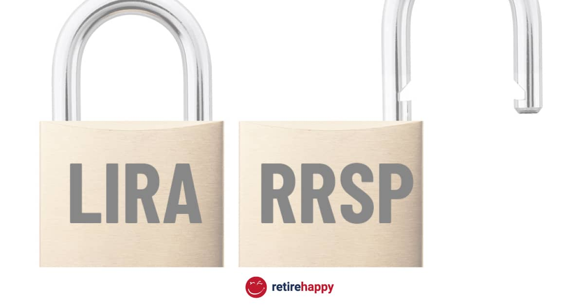 Differences between LIRAs and RRSPs