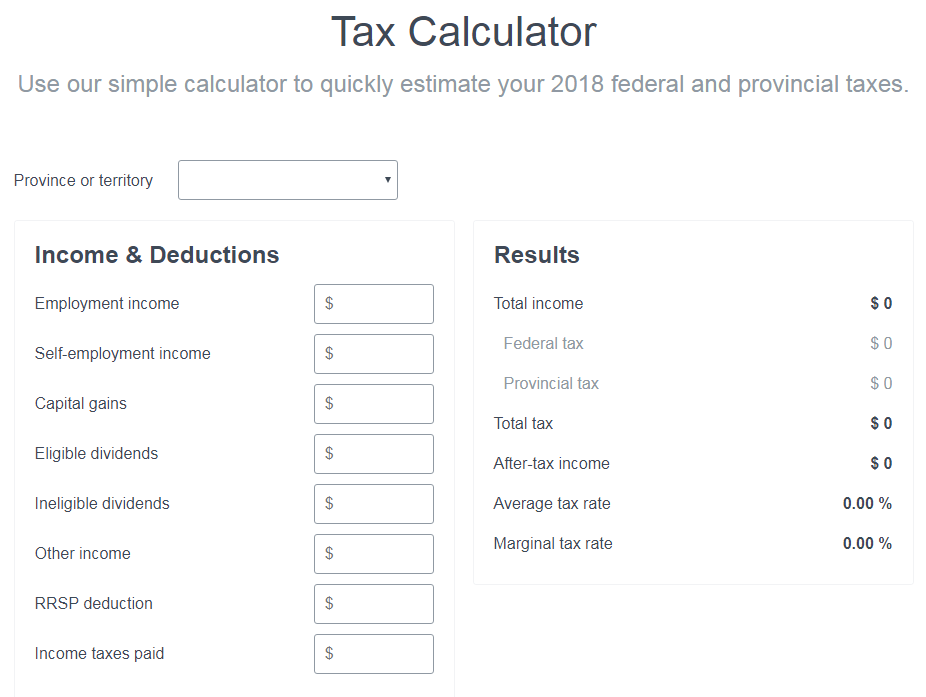 How Much Is Tax In Bc >> Canadian Tax Brackets Marginal Tax Vs Average Tax
